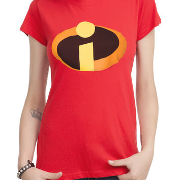 Disney The Incredibles Logo Girls T-Shirt