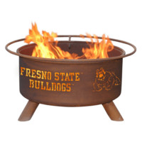 Fresno State Steel Fire Pit by Patina Products