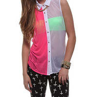 rue21 :   SPLIT COLOR X BK SHIRTING
