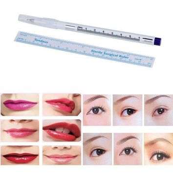 CREYXT3 Susenstone Surgical Skin Marker Pen Scribe Tool for Tattoo Piercing Permanent Makeup