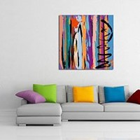 canik200 Canvas Print Artwork Stretched Gallery Wrapped Wall Art Painting abstraction Size 26x26""