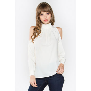 Cold Shoulder Alberta Blouse