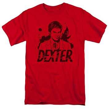 Dexter - Splatter Dex Short Sleeve Adult 18/1