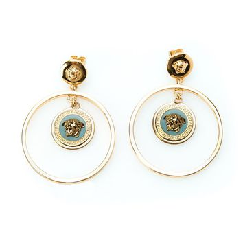 Versace 'Medusa' hoop earrings