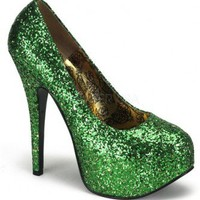 Green Glitter Platform Pump Heels @ Amiclubwear Heel Shoes online store sales:Stiletto Heel Shoes,High Heel Pumps,Womens High Heel Shoes,Prom Shoes,Summer Shoes,Spring Shoes,Spool Heel,Womens Dress Shoes,Prom Heels,Prom Pumps,High Heel Sandals,Cheap Dress