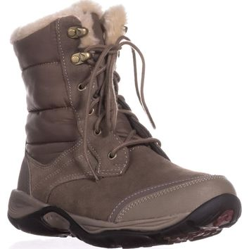 Easy Spirit Erle Cold Weather Boots, Dark Taupe Multi, 8.5 US