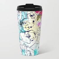 Spring Haze Metal Travel Mug by Holly Sharpe