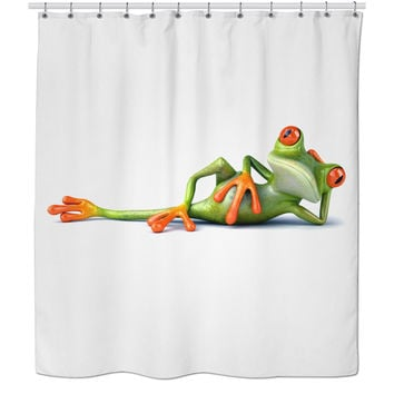 Marvelous Best Frog Shower Curtain Products On Wanelo