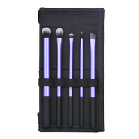 Beauty 5 PCS Makeup Brush Cosmetic Brushes Set With Case