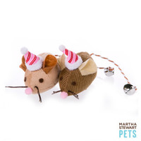 Martha Stewart Pets® 2-Pack Holiday Mice Cat Toy - Catnip