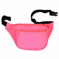 Blank Fanny Pack- Neon Pink
