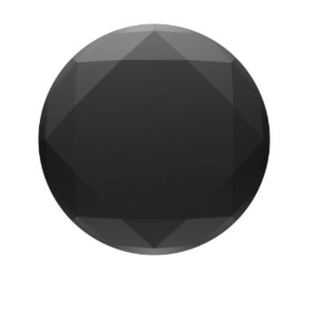 Black Metallic Diamond PopSocket
