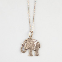 Full Tilt Filigree Elephant Pendant Gold One Size For Women 22865162101