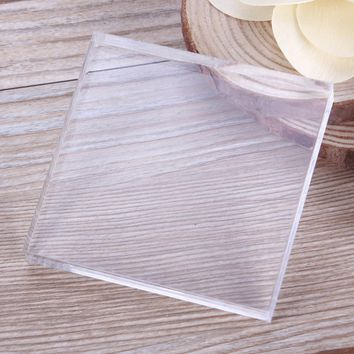 New Arrival  Acrylic Transparent Clay Pottery Sculpture Tool Workbench Pressure Plates DIY Tool #232297