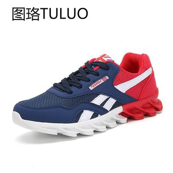 Tennis shoes for men Breathable cushioning training shoes Sneakers Zapatos Chaussure boys student sports activities Professional