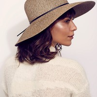 Free People Sancho Packable Straw Hat