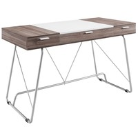 Panel Office Desk Birch EEI-1321-BIR
