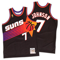 Mitchell & Ness Kevin Johnson 1996-97 Authentic Jersey Phoenix Suns In Black