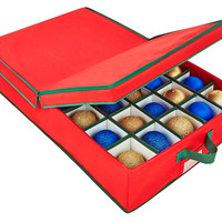 Bed 40-Count Under the  Ornament Box, Storage Boxes & Bins