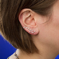 Constellation Earrings - Big Dipper and Little Dipper
