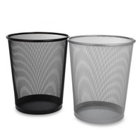 Seville® Mesh Metal Trash Can