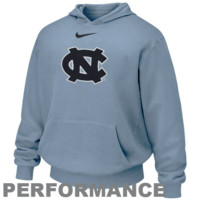 Nike North Carolina Tar Heels :UNC: Youth Carolina Blue Therma-Fit Performance Pullover Hoodie Sweatshirt - http://www.shareasale.com/m-pr.cfm?merchantID=7124&userID=1042934&productID=486908685 / North Carolina Tar Heels