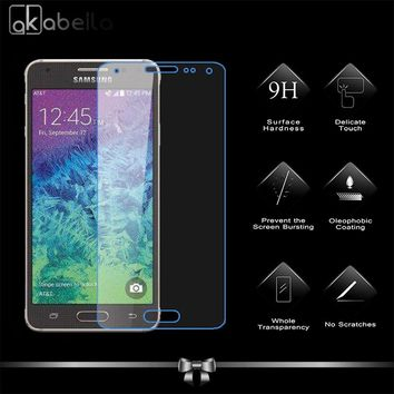 Tempered Glass Screen Protector For Samsung Galaxy Alpha G850F G850T G850M G850FQ G850Y Premium Protective Toughened Film