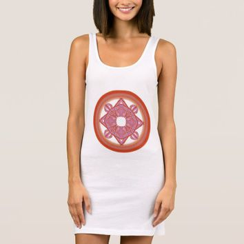 Sacred Geometry Women's Jersey Sleeveless Dress