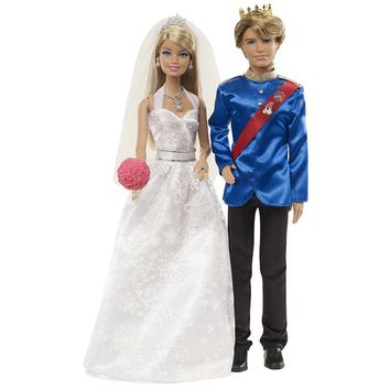 Barbie Fairytale Wedding Doll Set by Mattel