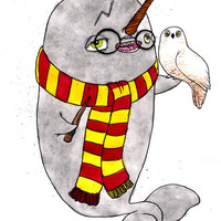Harry Potter Narwhal