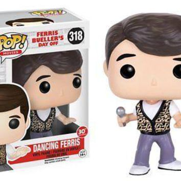 Funko Pop Movies: Ferris Bueller's Day Off - Dancing Ferris Vinyl Figure