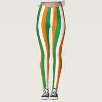 Leggings with flag of Ireland