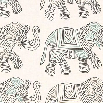 Robert Allen Fabric 229211 Circus Fun Graphite