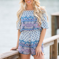 Be The Reason Print Romper