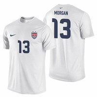 Nike U.S. Soccer Men's WNT Replica Tee - Morgan
