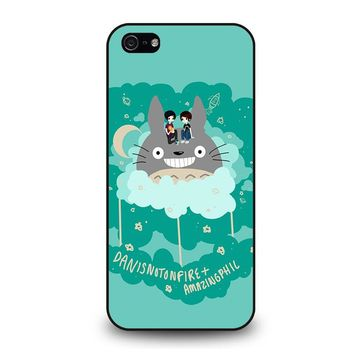 DAN AND PHIL TOTORO iPhone 5 / 5S / SE Case Cover