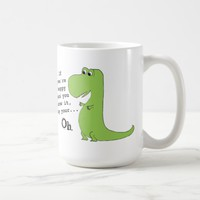 If You're Happy Clap Funny Dinosaur Mug