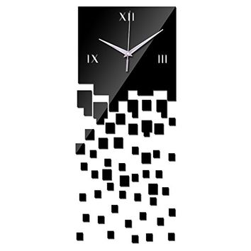 EverTrust(TM) hot sale limited reloj de pared Acrylic wall clock home decor Modern mirror clocks diy 3d watches wedding