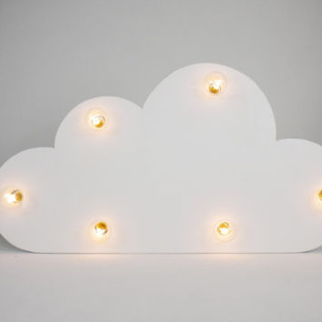 Cloud Marquee Wall Art