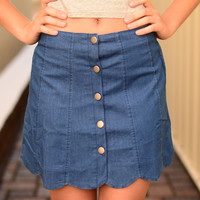Inner Hippie Denim Skirt