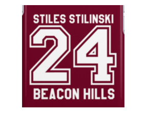Stiles Stilinski #24 iPhone Cases & Skins