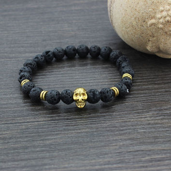 Hot Sale Stylish Awesome New Arrival Gift Shiny Great Deal Accessory Skull Yoga Bracelet [6464864641]