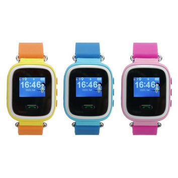 Q60 Smart Watch Baby Watch SOS Call Location Device Tracker for Kid Safe Anti-Lost Monitor Smartwatch