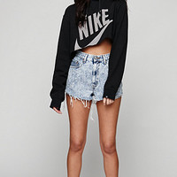 Retro Gold Vintage Nike Cropped Hoodie at PacSun.com