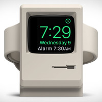 Classic Macintosh Apple Watch Stand