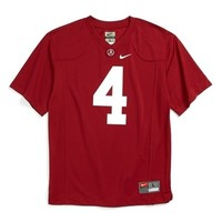 Boy's Nike 'Alabama Crimson Tide' Football Jersey