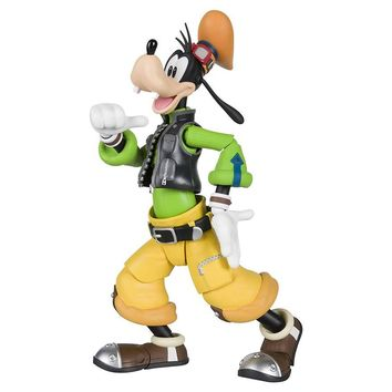 Kingdom Hearts II Bandai S.H.Figuarts Action Figure : Goofy (Kingdom Hearts II) - HYPETOKYO