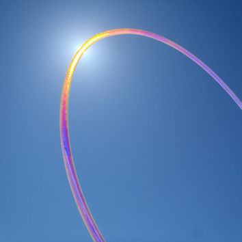ALL NEW Sunset Sky Holographic Polypro Hula Hoop Customize Your Dance Hoop