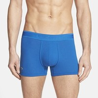 Men's Lacoste Pique Cotton Blend Trunks