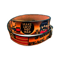 Leather Woodstock Belt on Sale for $19.99 at HippieShop.com